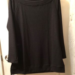 Cherry & Grace Sweaters - TODAY ONLY Price Drop! Black Cable knit sweater